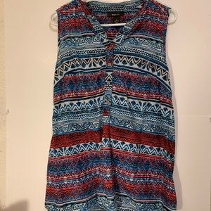 5/25.00 Sale Style and Co Sleeveless Top